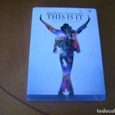 Vídeos y DVD Musicales: MICHAEL JACKSON / THIS IS IT ( 2 DVD ) CAJA METALICA. Lote 140334814