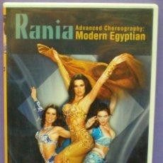 Vídeos y DVD Musicales: RANIA - ADVANCED CHOREOGRAPHY: MODERN EYPTIAN / INSTRUCTIONAL BELLYDANCE SERIES - DVD . Lote 140412470