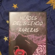 Vídeos y DVD Musicales: HÉROES DEL SILENCIO RAREZAS DVD NUEVO, BUNBURY. Lote 140441706