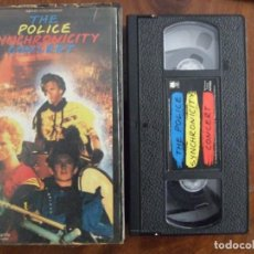Vídeos y DVD Musicales: VHS - THE POLICE SYNCHONICITY CONCERT - AM 1984. Lote 140464810