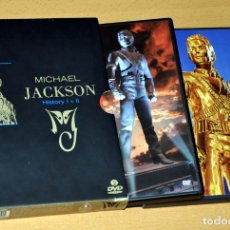 Vídeos y DVD Musicales: DOBLE DVD EN INGLÉS - MICHAEL JACKSON - HISTORY I + II - ED. SONY / BMG MUSIC - AÑO 2008.. Lote 140513122
