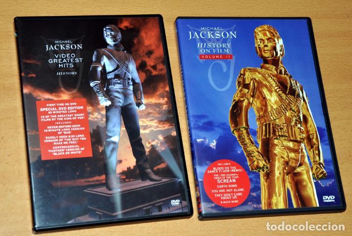 Doble dvd en inglés: michael jackson - history - Sold