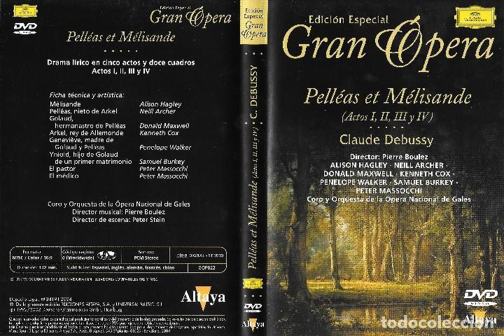 PELLÉAS ET MÉLISANDE - CLAUDE DEBUSSY - EDICIÓN ESPECIAL GRAN ÓPERA (Música - Videos y DVD Musicales)