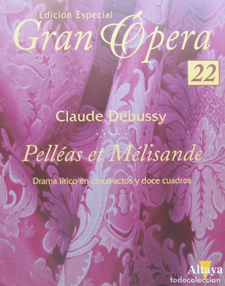 Vídeos y DVD Musicales: PELLÉAS ET MÉLISANDE - CLAUDE DEBUSSY - EDICIÓN ESPECIAL GRAN ÓPERA - Foto 3 - 140657238