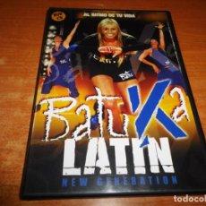 Vídeos y DVD Musicales: BATUKA LATIN NEW GENERATION DOBLE DVD 2008 ESPAÑA JESSICA EXPOSITO OPERACION TRIUNFO. Lote 194550603