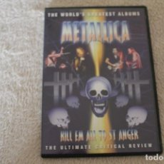 Vídeos y DVD Musicales: DVD METALLICA KILL EM ALL TO ST ANGER . Lote 141557010