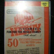 Vídeos y DVD Musicales: HARD´N´HEAVY SPECIAL. VHS. Lote 141835102
