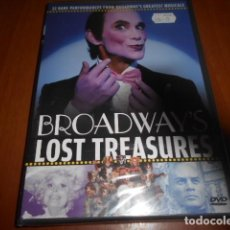 Vídeos y DVD Musicales: DVD-BROADWAY´S LOST TREEASURES-PRECINTADA. Lote 141902862