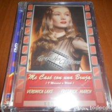 Vídeos y DVD Musicales: DVD-ME CASÉ CON UNA BRUJA-PRECINTADA. Lote 141903026