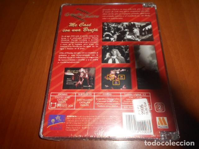 Vídeos y DVD Musicales: DVD-ME CASÉ CON UNA BRUJA-PRECINTADA - Foto 2 - 141903026