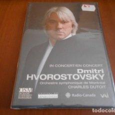 Vídeos y DVD Musicales: DVD-DIMITRI HVOROSTOVSKY IN CONCERT-PRECINTADA. Lote 141906906