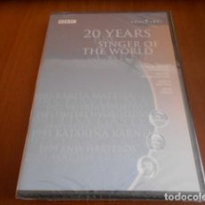 Vídeos y DVD Musicales: DVD-20 YEARS SINGER OF THE WORLD-PRECINTADA. Lote 141907434