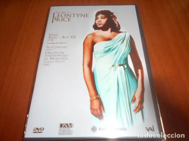DVD-THE ART OF LEONTYNE PRICE-PRECINTADA (Música - Videos y DVD Musicales)