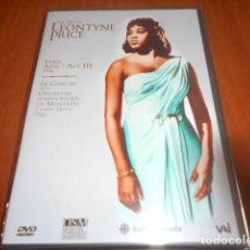 Vídeos y DVD Musicales: DVD-THE ART OF LEONTYNE PRICE-PRECINTADA. Lote 141907678