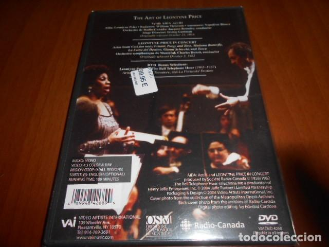 Vídeos y DVD Musicales: DVD-THE ART OF LEONTYNE PRICE-PRECINTADA - Foto 2 - 141907678
