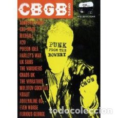 Vídeos y DVD Musicales: VARIOUS? - CBGB PUNK FROM THE BOWERY. Lote 142022698