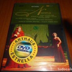 Vídeos y DVD Musicales: DVD-OPERA-BELLINI -NORMA-PRECINTADA. Lote 142049586