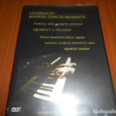 Vídeos y DVD Musicales: DVD-CELEBRACIÓ-MANUEL GARCÍA-MORANTE-PRECINTADA. Lote 142049722