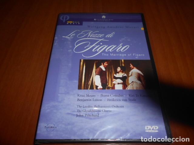 DVD-LE NOZZE DI FIGARO-WOLFGANG AMADEUS MOZART-PRECINTADO (Música - Videos y DVD Musicales)