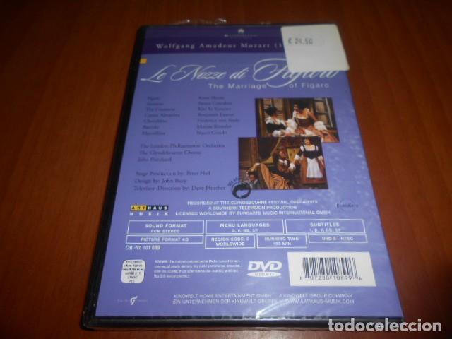 Vídeos y DVD Musicales: DVD-LE NOZZE DI FIGARO-WOLFGANG AMADEUS MOZART-PRECINTADO - Foto 2 - 142418334