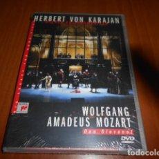 Vídeos y DVD Musicales: DVD-HERBERT VON KARAJAN-WOLFGANG AMADEUS MOZART-PRECINTADO. Lote 142421514