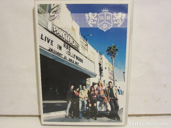 RBD - LIVE IN HOLLYWOOD - DVD - 2006 - SPAIN - EX+/EX+ (Música - Videos y DVD Musicales)