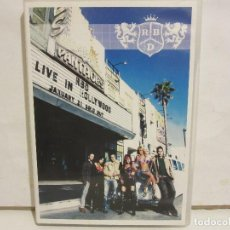 Vídeos y DVD Musicales: RBD - LIVE IN HOLLYWOOD - DVD - 2006 - SPAIN - EX+/EX+. Lote 142466678
