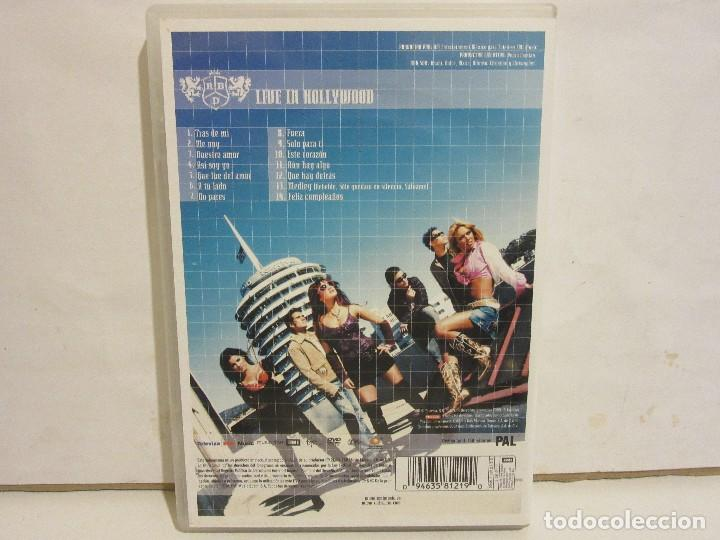 Vídeos y DVD Musicales: RBD - Live In Hollywood - DVD - 2006 - Spain - EX+/EX+ - Foto 2 - 142466678