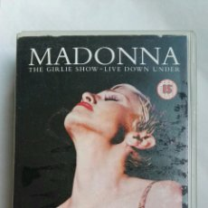 Vídeos y DVD Musicales: MADONNA THE GIRLIE SHOW LIVE DOWN UNDER VHS. Lote 142476270