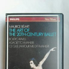 Vídeos y DVD Musicales: THE ART OF THE 20TH-CENTURY BALLET VHS. Lote 142477218
