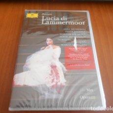 Vídeos y DVD Musicales: DVD-DONIZETTI-LUCIA DI LAMMERMOOR-ARMILIATO-PRECINTADO. Lote 142551766