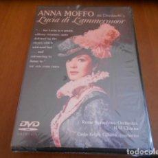 Vídeos y DVD Musicales: DVD-ANNA MOFFO LUCIA DI LAMMERMOOR-PRECINTO ROTO,VER FOTOS. Lote 142563870
