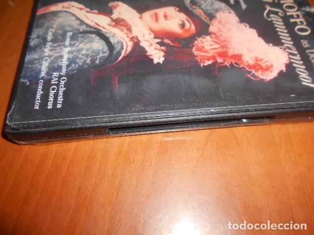Vídeos y DVD Musicales: DVD-ANNA MOFFO LUCIA DI LAMMERMOOR-PRECINTO ROTO,VER FOTOS - Foto 3 - 142563870