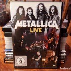 Vídeos y DVD Musicales: METALLICA - LIVE. Lote 142786118