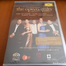Vídeos y DVD Musicales: DVD-LIVE FROM BADEN -BADEN-THE OPERA GALA-PRECINTADO. Lote 142870410