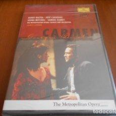 Vídeos y DVD Musicales: DVD -BIZET CARMEN LEVINE-PRECINTADO. Lote 142870546
