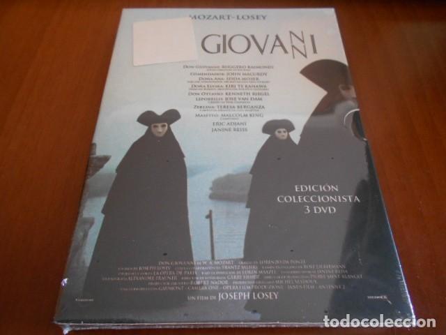 DON GIOVANNI-MOZART-LOSEY-3 DVD-PRECINTADO (Música - Videos y DVD Musicales)