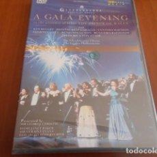 Vídeos y DVD Musicales: DVD-A GALA EVENING-THE GLYNDEBOURNE CHORUS-PRECINTADO. Lote 142872946