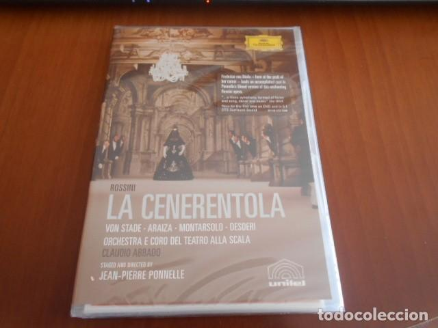 DVD-LA CENERENTOLA-ROSSINI (ABBADO)-PRECINTADO (Música - Videos y DVD Musicales)