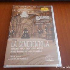 Vídeos y DVD Musicales: DVD-LA CENERENTOLA-ROSSINI (ABBADO)-PRECINTADO. Lote 142873070