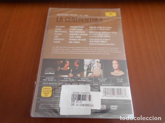 Vídeos y DVD Musicales: DVD-LA CENERENTOLA-ROSSINI (ABBADO)-PRECINTADO - Foto 2 - 142873070