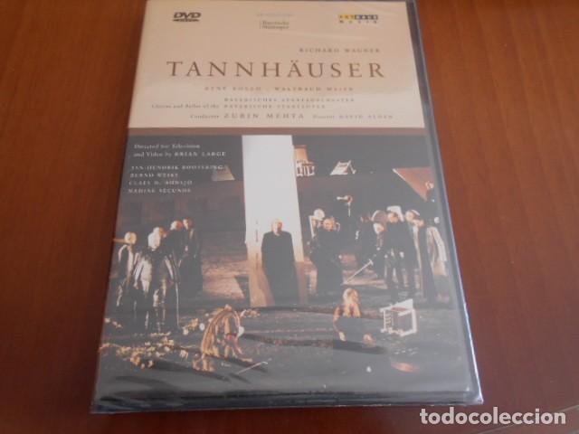 DVD-TANNHAUSER-RICHARD WAGNER -PRECINTADO (Música - Videos y DVD Musicales)