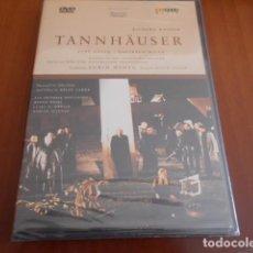 Vídeos y DVD Musicales: DVD-TANNHAUSER-RICHARD WAGNER -PRECINTADO. Lote 142873514