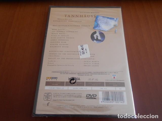 Vídeos y DVD Musicales: DVD-TANNHAUSER-RICHARD WAGNER -PRECINTADO - Foto 2 - 142873514