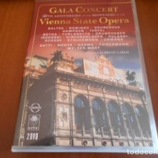 Vídeos y DVD Musicales: DVD GALA CONCERT FROM THE VIENNA STATE OPERA. Lote 142878342