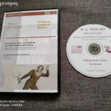 Vídeos y DVD Musicales: DVD DON GIOVANNI - MOZART - SIR CHARLES MACKERRAS - AMADO - RARE. Lote 143050138