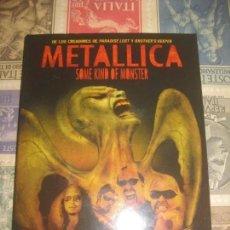 Vídeos y DVD Musicales: METALLICA SOME KIND OF MONSTER 2 DVD´S CON CUBIERTA DE CARTON LEA DESCRIPCION. Lote 143132158