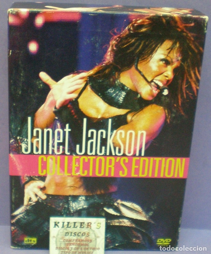 Janet Jackson Collector's Edition - Live In Hawaii / The Velvet Rope Tour -  2xDVD