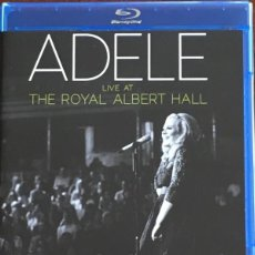 Vídeos y DVD Musicales: ADELE - LIVE AT THE ROYAL ALBERT HALL - BLU-RAY + CD - MULTICHANNEL COPY CONTROL. Lote 143819498