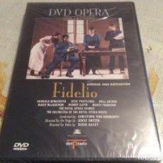 Vídeos y DVD Musicales: DVD OPERA ¨FIDELIO¨ LUDWING VAN BEETHOVEN-PRECINTADA. Lote 143841306